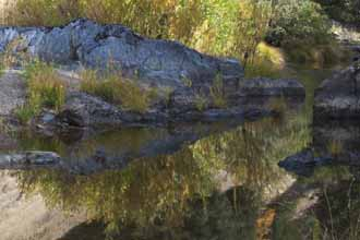 Rocks Along Spanish Creek, Plumas County, Northern Sierra Nevada, California, copyright 2012 by David Leland Hyde.