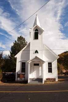 Community Church, Taylorsville, Plumas County, Northern Sierra Nevada, California, copyright 2012 by David Leland Hyde.