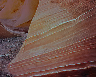 Canyon In Waterpocket Fold, Capitol Reef National Park, From Slickrock With Edward Abbey, Made On Backcountry Trip With Art And A.C. Ekker, Canyons Utah, copyright Philip Hyde, 1970.