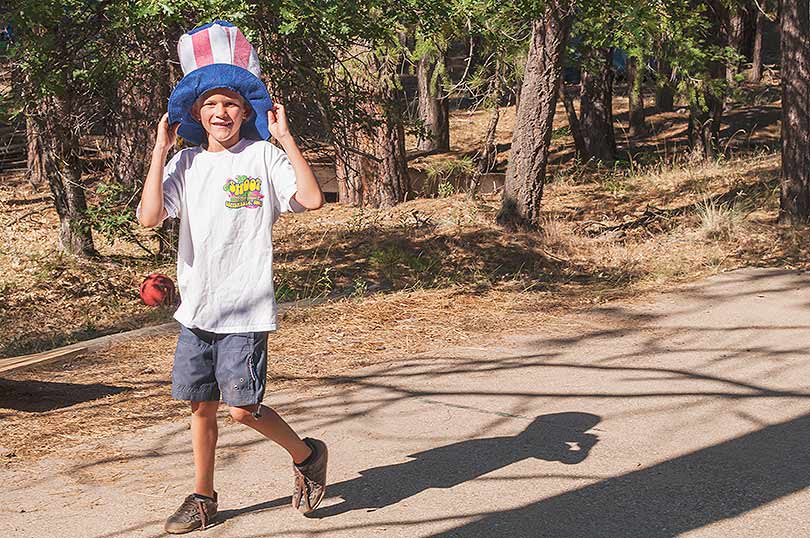 Happy 4th of july watson s walking g summer camp for Northern california summer camps