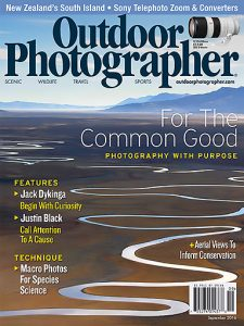 Cover of Outdoor Photographer September Special Issue - Photography with a Purpose